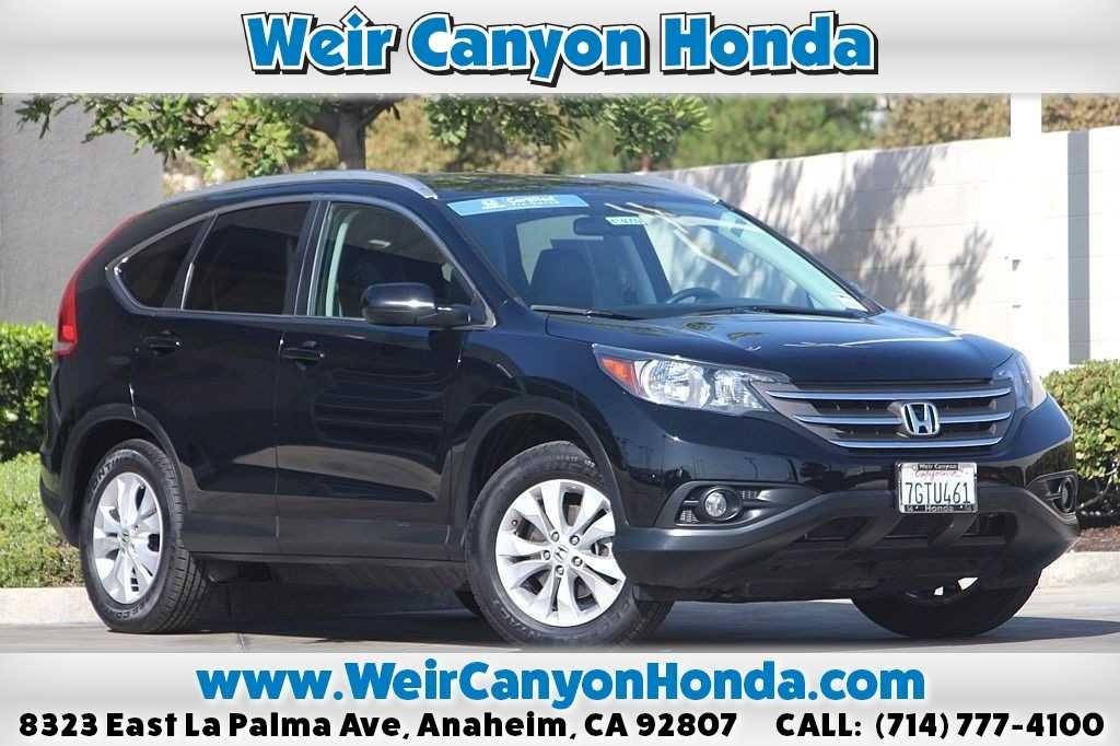 Certified Pre Owned 2014 Honda CR V EX L