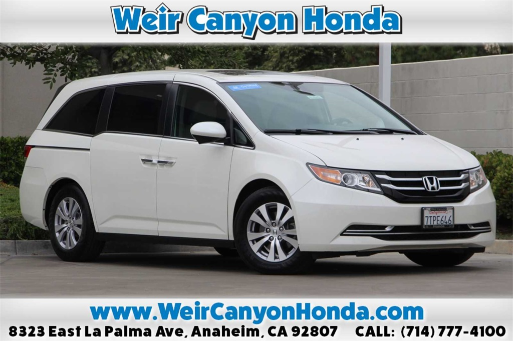 Certified Pre-Owned 2016 Honda Odyssey EX-L