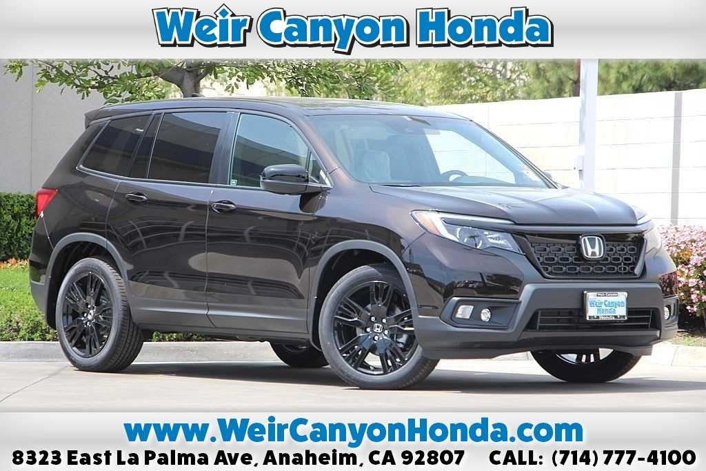 New 2019 Honda Passport Sport FWD 4D