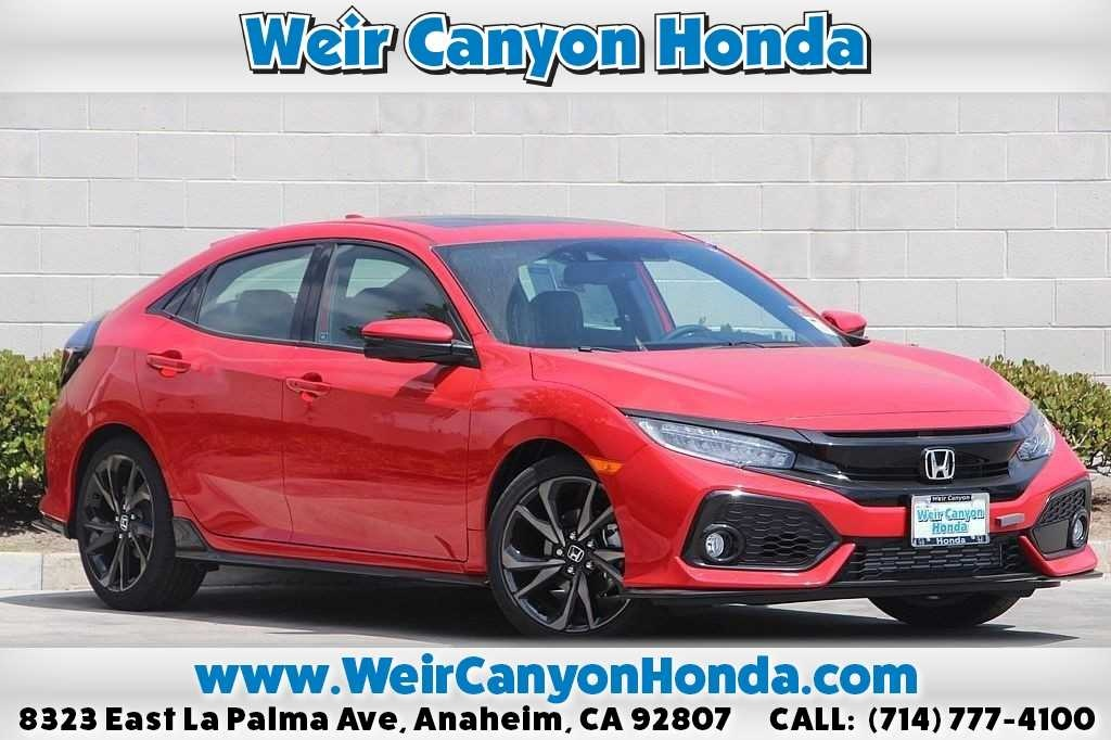New 2018 Honda Civic Sport Touring