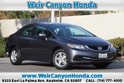 Certified Pre-Owned 2014 Honda Civic Natural Gas