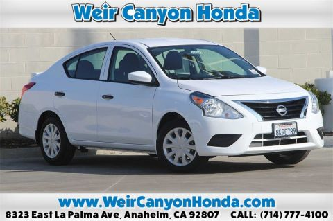 Pre-Owned 2019 Nissan Versa 1.6 S Plus