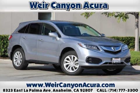 Certified Pre-Owned 2018 Acura RDX TECH